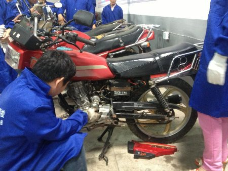电动车摩托车维修实战班