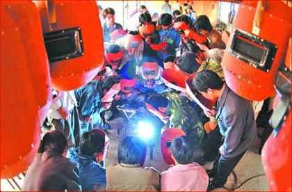 焊工培训 电焊工培训 其他保护焊培训  氩弧焊培训